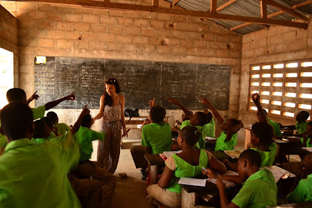 Voluntar in Africa: ecole la voie no.3 Togo