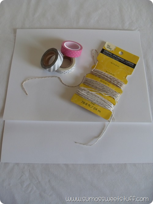 Sumo's Sweet Stuff - Washi Tags: Super easy, super cute, & the perfect finishing touch to any gift!