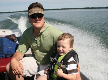 Boat ride at Cabin July 2011 (4)