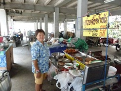 Thai street vendors