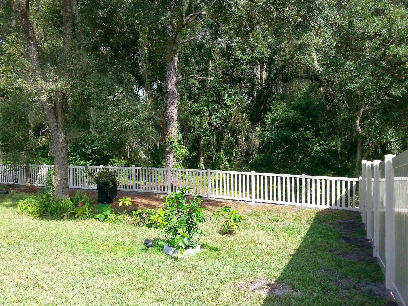 New Tampa Fence Inc Vinyl Fence Down The Hill
