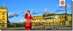 DSC00242.JPG biskop Fredrik Vesterberg röd kaftan bron Riksdagshuset  med amorism