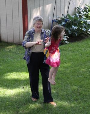 Swinging with Grandma July 2011 (1)