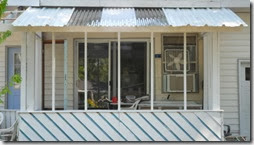 Metal and polycarbonate panels.