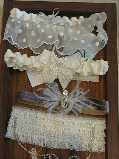 I'm not a garter person, but these are so great. Are you going to wear a garter?