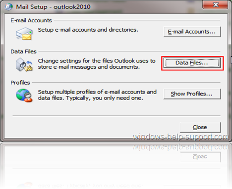 Mail Setup - outlook2010_2011-08-25_23-36-23