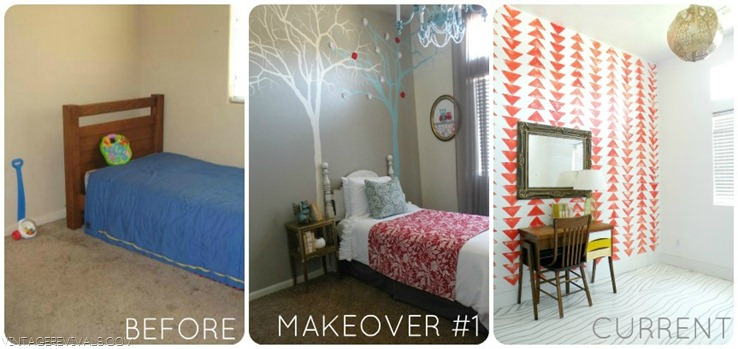 Ivie's Bedroom Makeover Shots