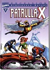 P00007 - Biblioteca Marvel - Patrulla-X #7