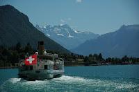 Montreux - Berno - Bazylea,lipiec 2009