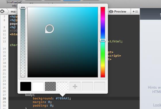 Coda 2 analizado a fondo, para crear sitios web en la Mac