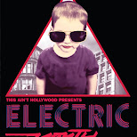 electric youth flyer for this ain't hollywood in Hamilton, Ontario, Canada