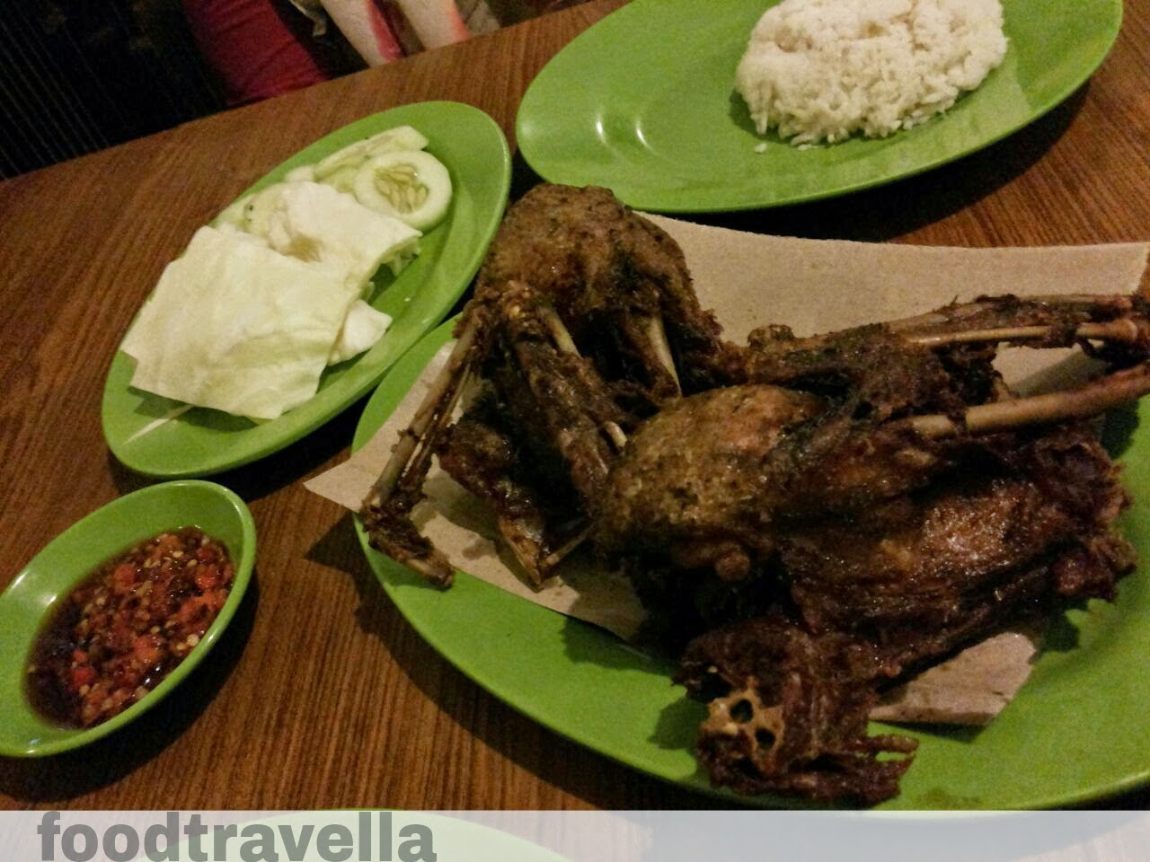Food Traveller Bebek Goreng H Slamet Cab Kartosuro Jl Bali