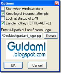 Sumra Soft Lock PC Now Opzioni