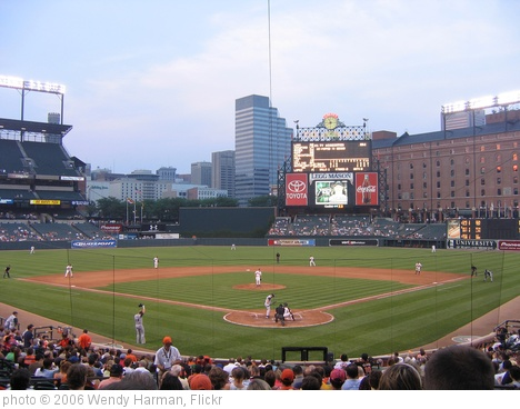 'Camden Yards' photo (c) 2006, Wendy Harman - license: http://creativecommons.org/licenses/by/2.0/