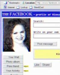 Asi sería usar Facebook y Twitter en los años 80 y 90