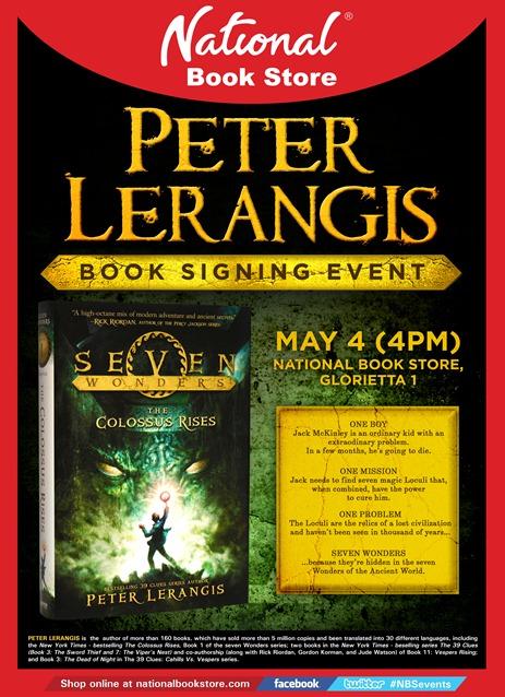Poster - Peter Lerangis
