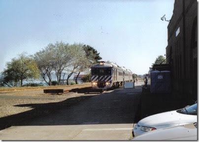 Lewis & Clark Explorer at the depot in Astoria, Oregon on September 24, 2005