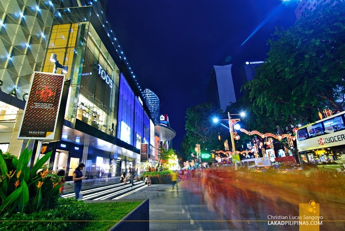 Shopping Malls at Singapore's Orchard Road
