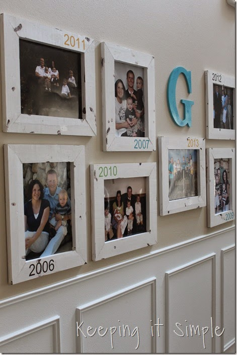 DIY Gallery Wall With Old Family Pictures (17)