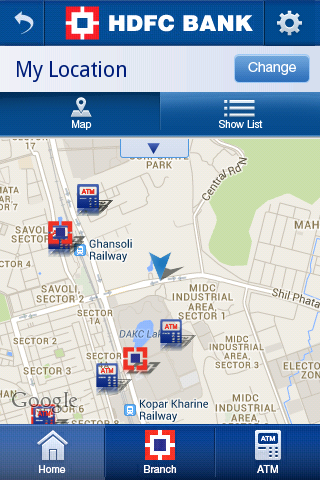 HDFC Bank MobileBanking Screenshot 2