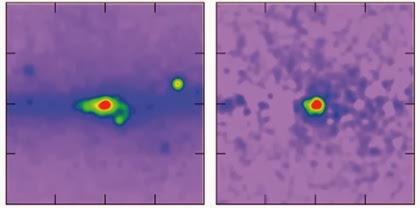 emissão de raios gama do centro galáctico