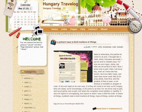 Hungary Travelog