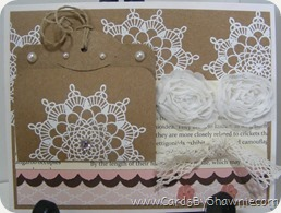 Doily with Secret Message