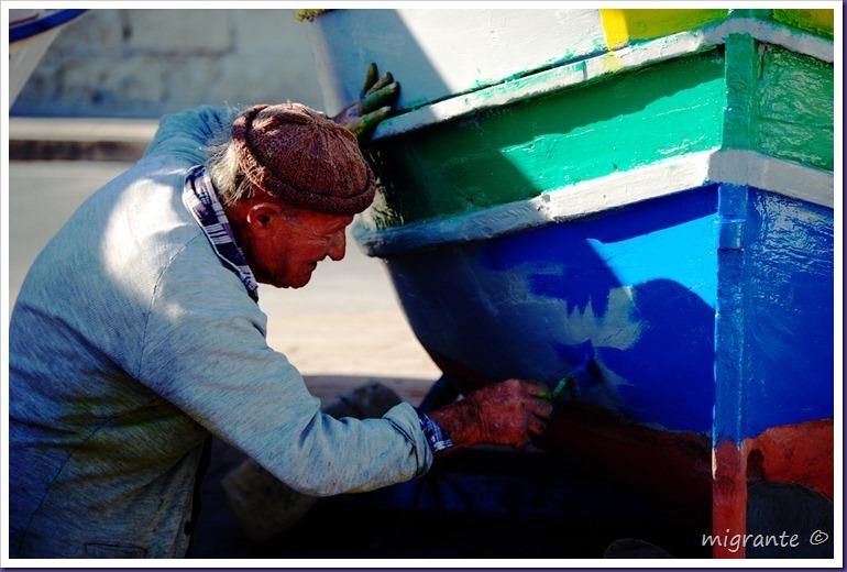 pintando canas - malta
