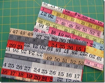 Tape measure fabrics