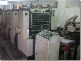 Jual mesin cetak Offset Komori