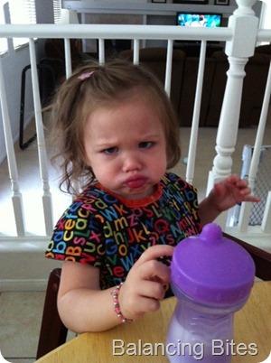 Elena's  Serious Face