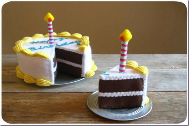 comidinhas-feltro-bolo-aniversário-vela