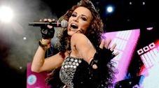 María José graba video de El amor manda