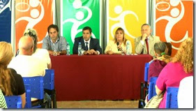 El acto tuvo lugar en las instalaciones del Polideportivo municipal Aldo Omar Ferreyra, del barrio las Quintas, en Santa Teresita