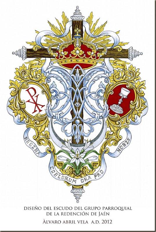 escudo redencion jaen diseño de alvaro abril vela granada 2013