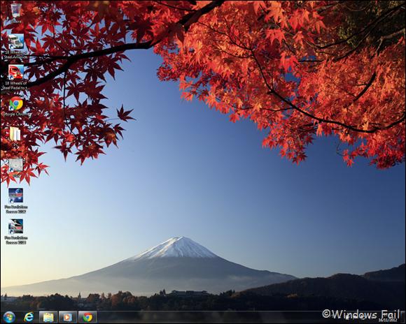 Tema Cores do outono no Japão