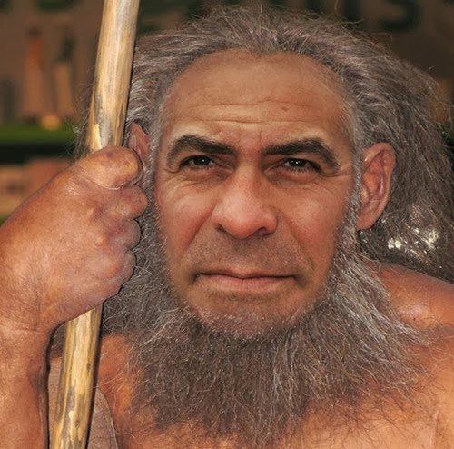 Neanderthal George Clooney
