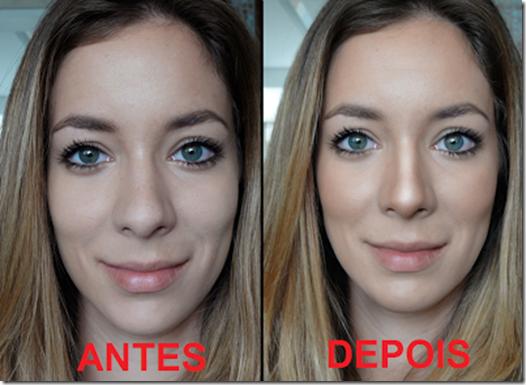 Truque de maquiagem para Afinar Nariz - 3 - 17sep13