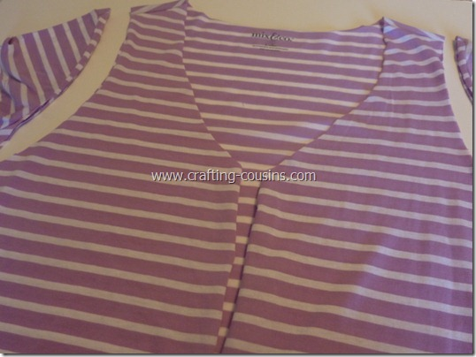 no sew vest from a tee shirt (5)