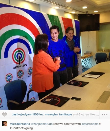 Zanjoe Marudo renews contract with Star Cinema
