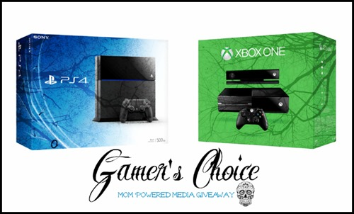 XBox or PS4 Giveaway via homework