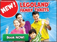 Legoland Family Ticket Promotion 2013 All Discounts Offer Shopping Save Money EverydayOnSales