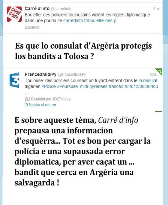 Lo consulat d'argèria protegís los bandits a Tolosa