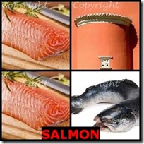 SALMON- 4 Pics 1 Word Answers 3 Letters