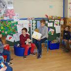 Voorlezen in de kleuterschool door 5B