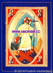 DSC01357 Kristus påsk ikon med amorism_redigerad-1. Komprimerad