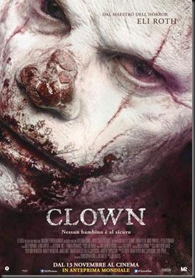 Clown-Italian-Poster