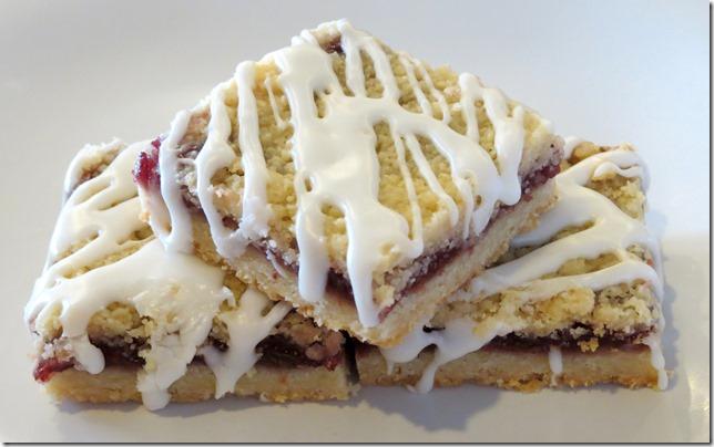 Raspberry Streusel Dessert Bars 3-26-13