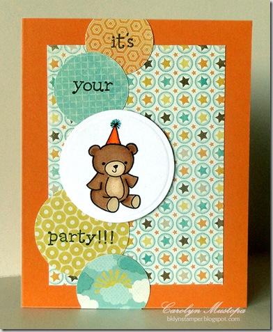party-bear