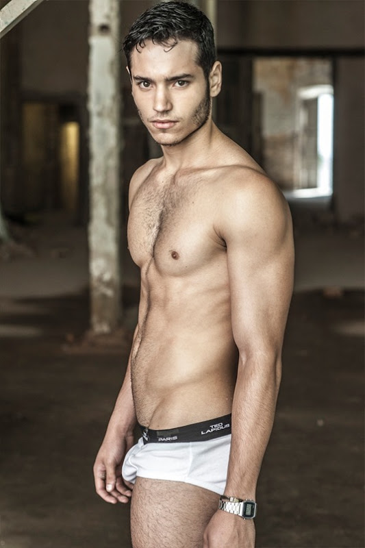 male model by lucio luna